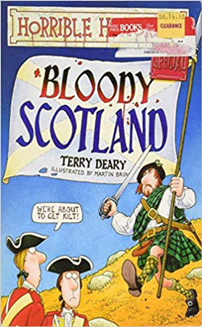 Deary, Terry / Horrible Histories: Bloody Scotland (Large Paperback)