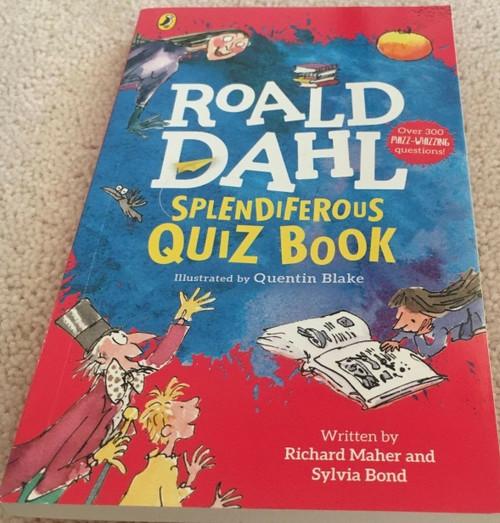 Roald Dahl's Splendiferous Quiz Book