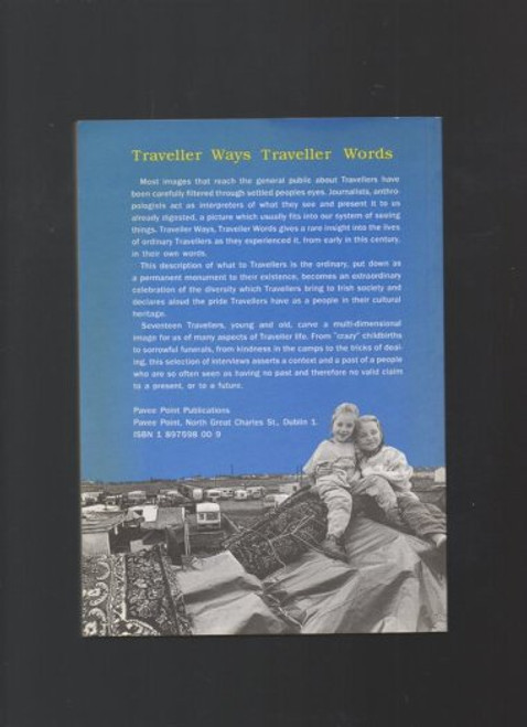 Pavee Point Publications - Traveller Ways, Traveller Words - PB 1992 - Interviews