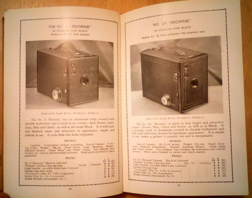 Kodak : Photographic Apparatus and Materials - 1933 Illustrated Catalogue - UK Edition