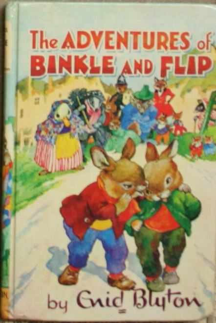 Blyton, Enid - The Adventures of Binkle and Flip - HB Dean Rewards Series Book 17