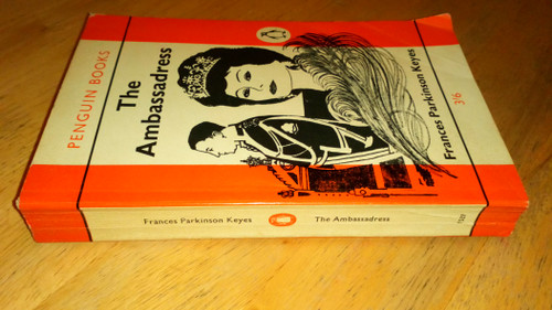 Keyes, Frances Parkinson - The Ambassadress - Vintage Penguin PB 1961