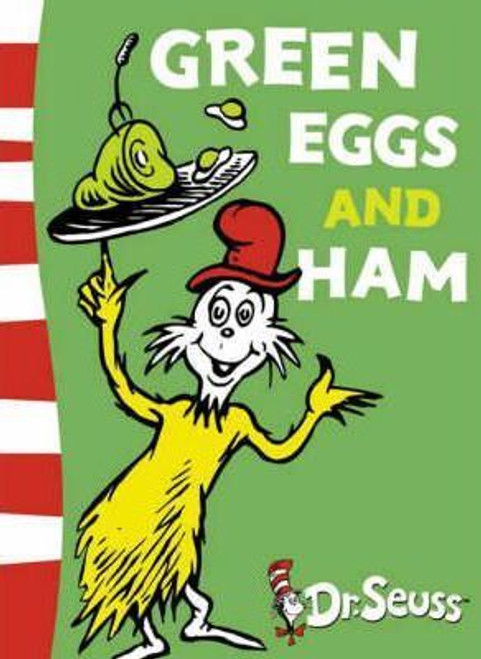 Seuss / Green Eggs and Ham (Large Paperback)