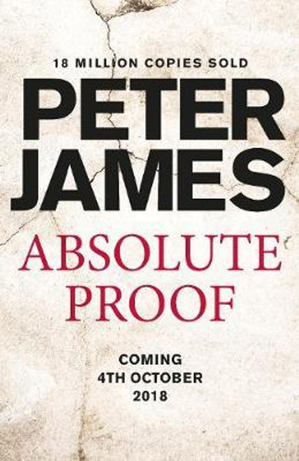James, Peter / Absolute Proof (Large Paperback)