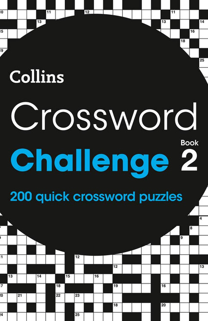 Collins Crossword Challenge - Book 2 - PB -BRAND NEW