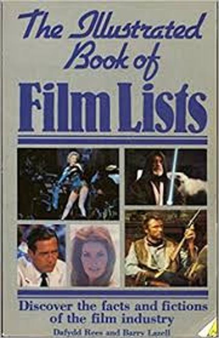 "Koski, John & Symons, Mitchell - Movielists - & Rees & Lazell -  The Illustrated Book of Fim Lists - PB 1992 - "" book lot"