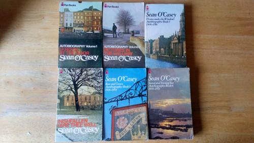 O'Casey, Sean - Autobiography : Complete 6 Book Vintage Pan PB Set, 1970's