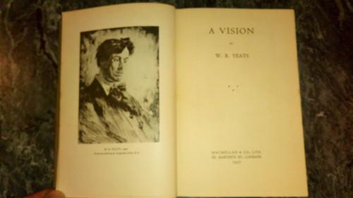 Yeats, William B - A Vision : Revised 1937 Edition HB - 1st Edition Macmillan - Irish Poetry