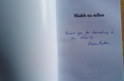 Ryder, Mary - Sliabh na mBan - A Novel - SIGNED - PB 2005