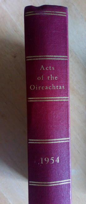 Acts of the Oireachtas 1954 - HB - Dáil Éireann - Bound