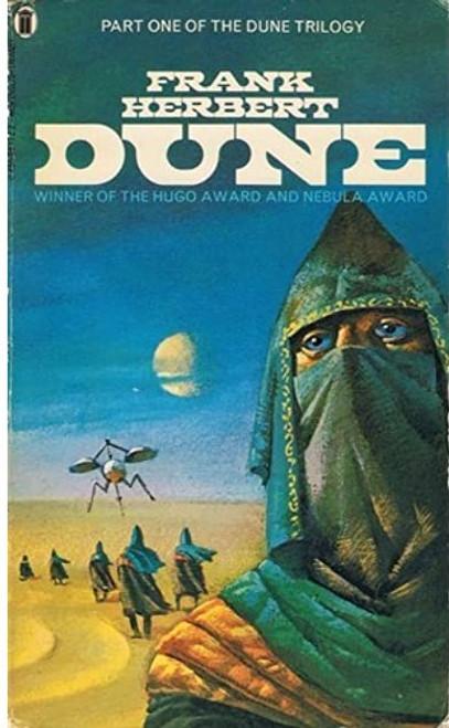 Herbert, Frank - Dune ( Original Dune Series - Book 1 ) - Vintage PB  1981
