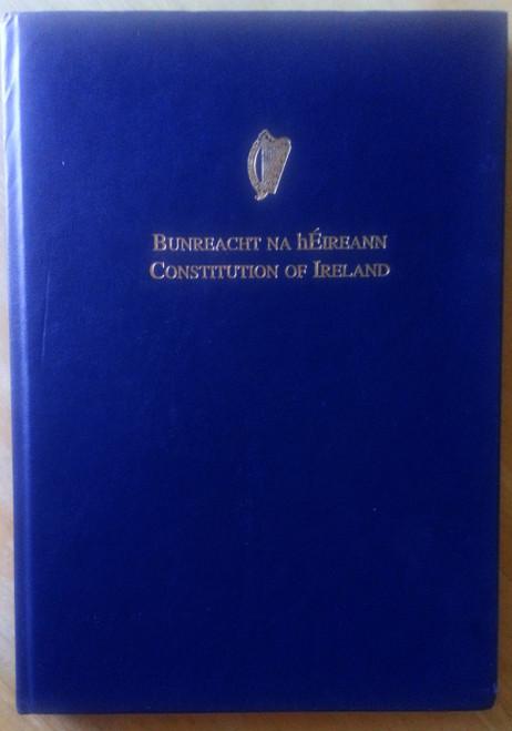 Bunreacht na hÉireann - Constitution of Ireland - HB Large Format - Hardcover 2002 - Gaeilge & English Dual Text