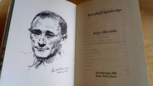 Ó Riordáin, Seán - Eireaball Spideoige - HB -1976  ( 1952) Filíocht - As Gaeilge