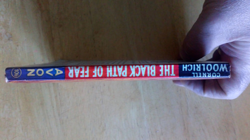 Woolrich, Cornell - The Black Path of Fear - Vintage Pulp Avon Library 1946