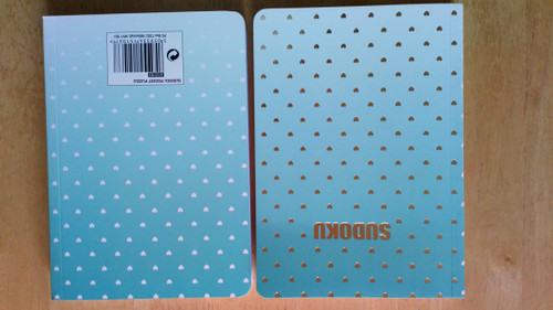 Sudoku Pocket Puzzle - PB - BRAND NEW - Number Puzzles ( Marbled Covers Edition))