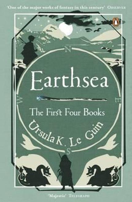 Le Guin, Ursula - Earthsea - The Earthsea Quartet ( One Volume OMNIBUS ) - PB - BRAND NEW - A Wizard of Earthsea * The Tombs of Atuan * The Farthest Shore * Tehanu