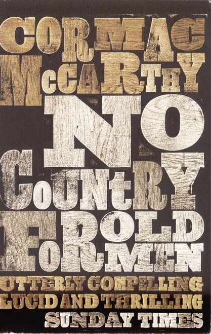 McCarthy, Cormac / No Country for Old Men