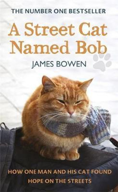Bowen, James / A Street Cat Named Bob : How one man and his cat found hope on the streets (Large Hardback)