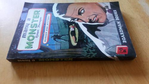 Finnegan, Robert - Many a Monster  - Classic Vintage Crime - TVB 91 - 1950  ( Dan Banion)