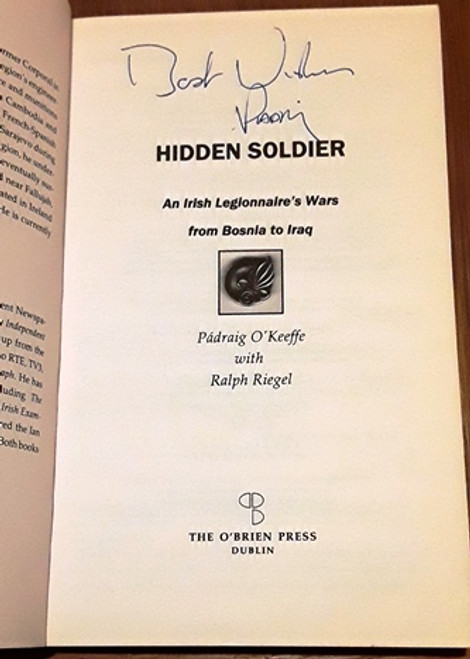 Padraig O'Keeffe / Hidden Soldier (Signed by the Author) (Medium Paperback)