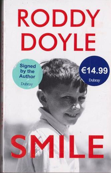 Roddy Doyle / Smile (Signed by the Author) (Medium Paperback) (1)