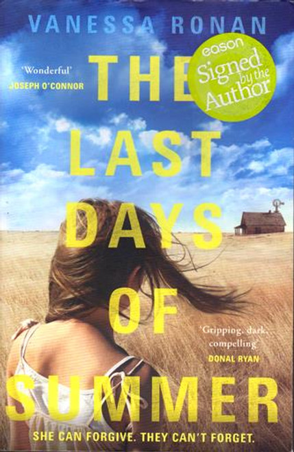 Vanessa Ronan / The Last Days of Summer (Signed by the Author) (Large Paperback)