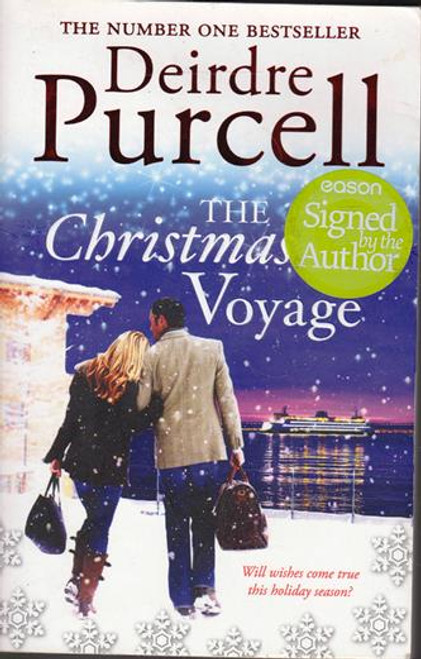 Deirdre Purcell / The Christmas Voyage (Signed by the Author) (Large Paperback)
