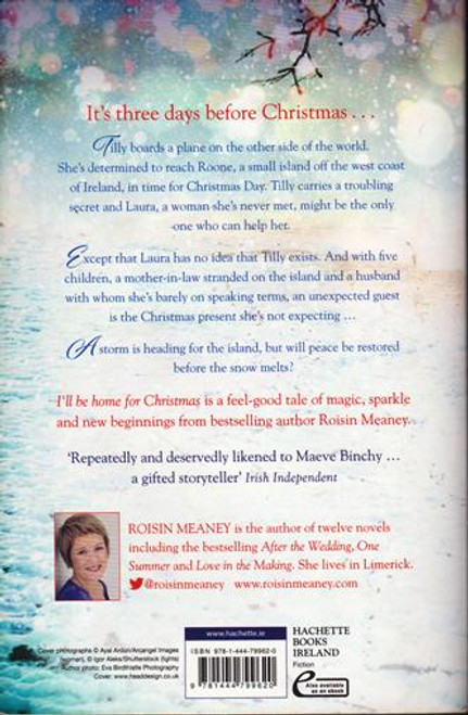 Roisin Meaney / I'll be Home for Christmas (Signed by the Author) (Large Paperback)