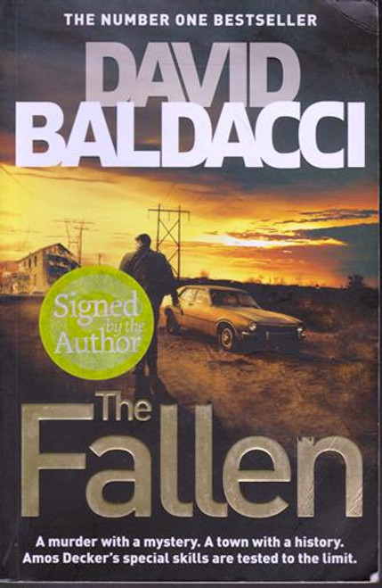 David Baldacci / The Fallen (Signed by the Author) (Large Paperback)