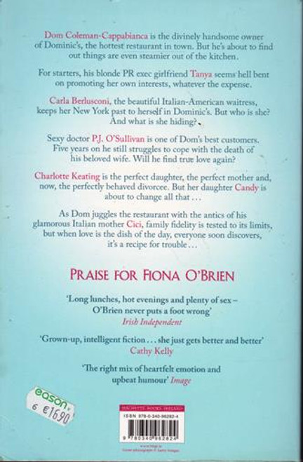 Fiona O'Brien / No Reservations (Signed by the Author) (Large Paperback)