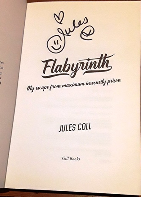 Jules Coll / Flabyrinth (Signed by the Author) (Large Paperback)