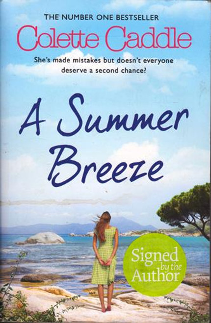 Colette Caddle / A Summer Breeze (Signed by the Author) (Large Paperback)