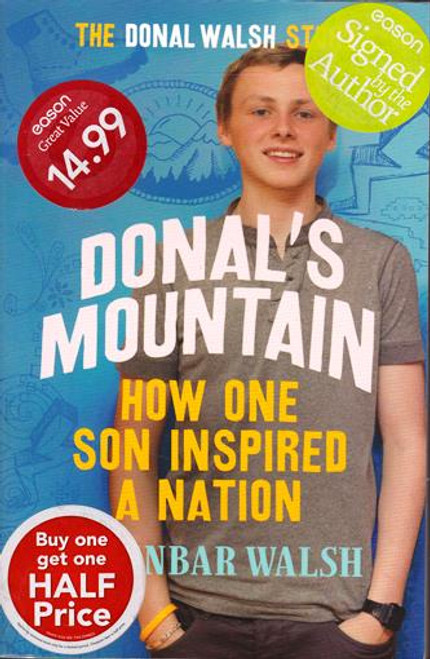 Fionnbar Walsh / Donal's Mountain (Signed by the Author) (Large Paperback)