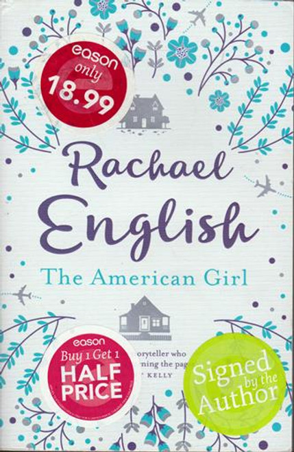 Rachael English / The American Girl (Signed by the Author) (Large Paperback)
