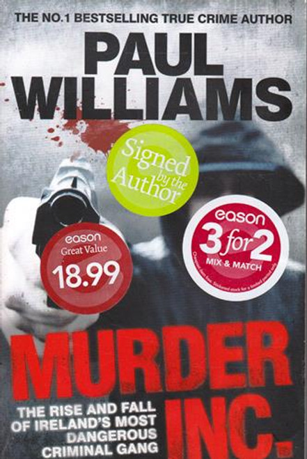 Paul Williams / Murder Inc. (Signed by the Author) (Large Paperback)