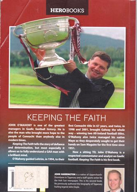 Anthony O'Mahony / Keeping the Faith (Signed by the Author) (Large Paperback)