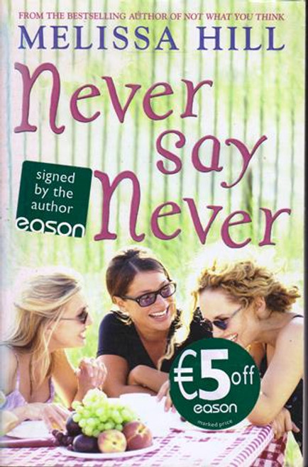 Melissa Hill / Never Say Never (Signed by the Author) (Large Paperback)