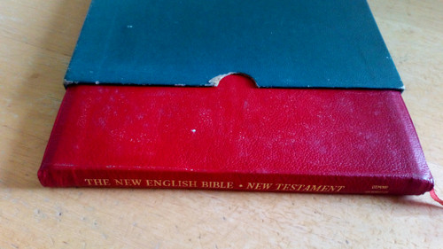 New Testament ( New English Bible ) OUP -1961 - HB Goatskin in Slipcase - Small Format ,