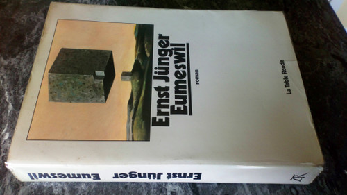 Junger, Ernst - Eumeswil ( In French ) PB -1977 _ Translated from German by Henri Plard