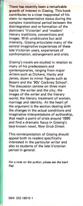 Poole, Adrian - Gissing in Context - HB - 1975