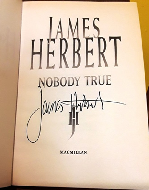 James Herbert / Nobody True (Signed by the Author) (Large Hardback)