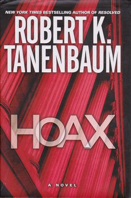 Robert K. Tanenbaum / Hoax (Signed by the Author) (Large Hardback)