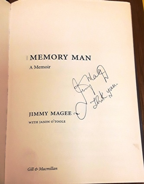 Jimmy Magee / Memory Man (Signed by the Author) (Large Hardback)