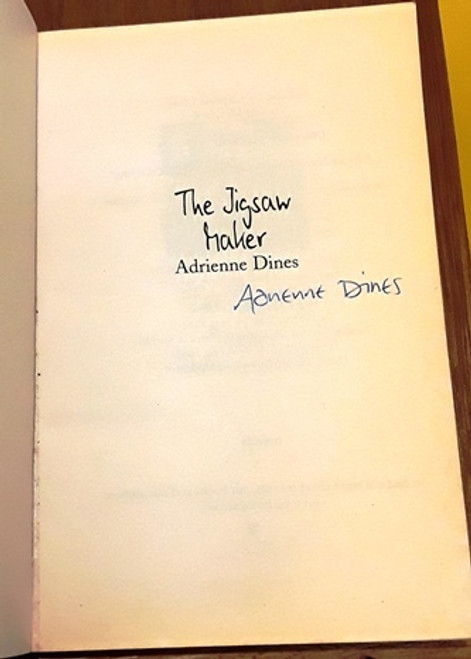 Adrienne Dines / The Jigsaw Maker (Signed by the Author) (Paperback)
