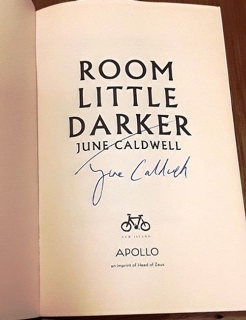 June Caldwell / Room Little Darker (Signed by the Author) (Paperback)