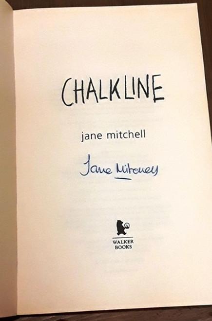 Jane Mitchell / Chalkline (Signed by the Author) (Paperback)