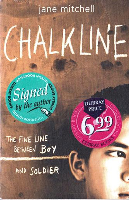 Jane Mitchell / Chalkline (Signed by the Author) (Paperback) (1)