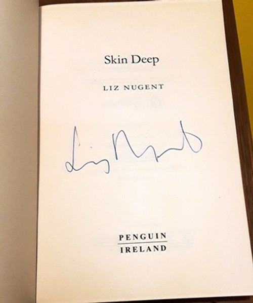 Liz Nugent / Skin Deep (Signed by the Author) (Large Paperback) (1)