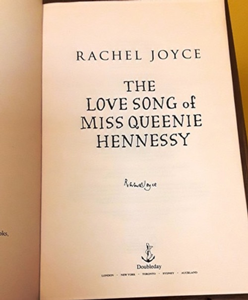Rachel Joyce / The Love Song of Miss Queenie Hennessy (Signed by the Author) (Large Paperback)