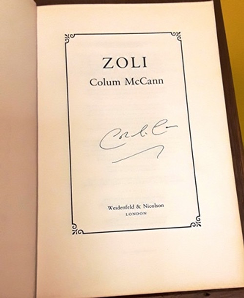 Colum McCann / Zoli (Signed by the Author) (Large Paperback)